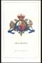 Stemma della Gran Bretagna in cromolito 1857