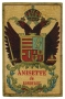 Anisette de Bordeaux Anice etichetta pubblicitaria
