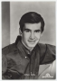 Anthony Perkins cartolina d'epoca