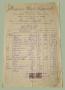 Fattura Negoziante Funi Canape Tele Petrolio - Foggia 1905