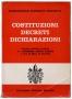 Costituzioni Decreti Dichiarazioni Concilio Ecumenico