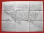 Carta Piano Assedio d' Ancona giugno 1849