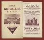 1949 Autocars - Chateaux de la Loire