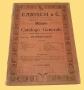Carisch & Janichen Milano Catalogo Generale Pianoforte
